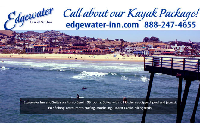 Central Coast Beaches at Edgewater Inn